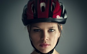 woman-bicycle-helmet-hair